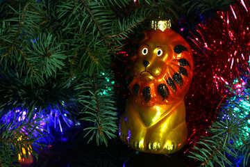 Christmas tree toys. Leo  №2754