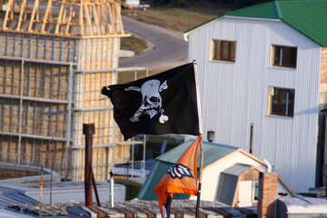 Piracy flag.  №2275