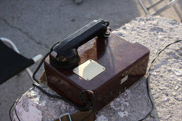 Old army phone   №2283