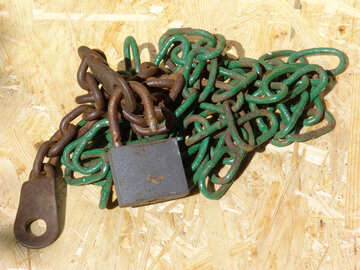 clave de la cadena de Castillo de . №2606