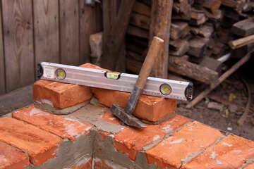 Workshop at construction site  №2884
