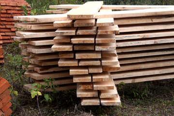 Warehousing  edged boards №2961