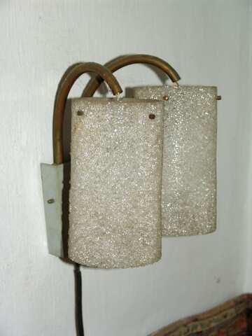 Vintage wall  lamp №2481