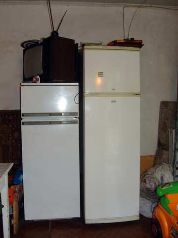 Refrigerators and the TV on summer residence №2483