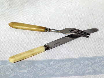 knife and fork  №2810