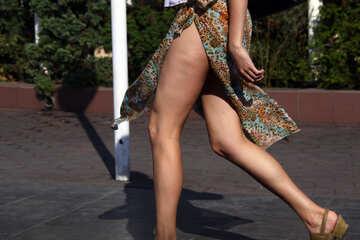 Feet Skirt №2234