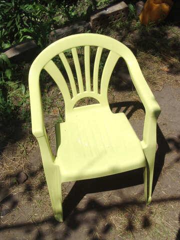 Plastic chair №2778