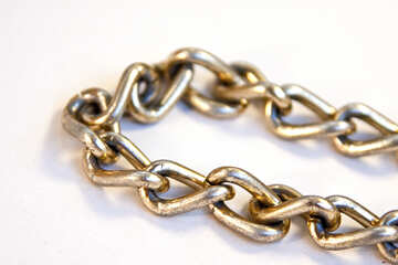 Gold chain. Large. №2085