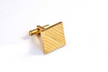 Cuff gold  №2497
