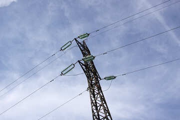 The high-voltage power line №2316