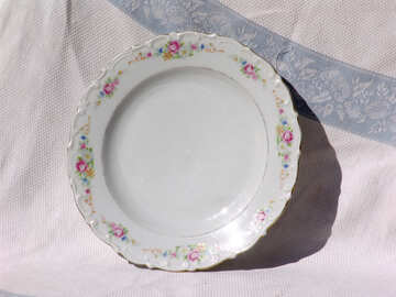 large plate with patterns  №2522