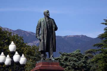 Lenin monument in Yalta №2216