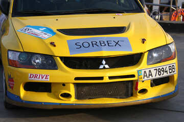 Advertising sorbex on the bonnet  №2669