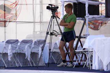 Cameraman   waiting  №2644