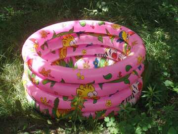 Children`s Inflatable Pool №2414