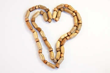 Heart of homemade beads №2102