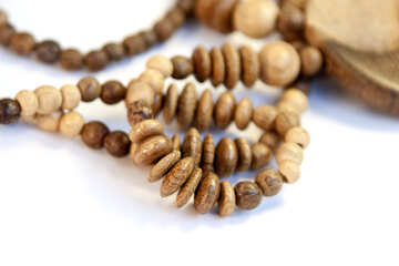Wooden beads №2099