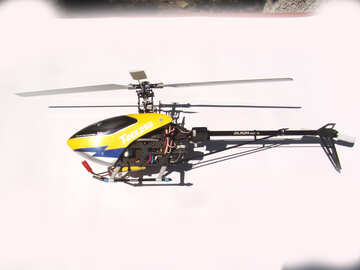 The radio-controlled helicopter №2558