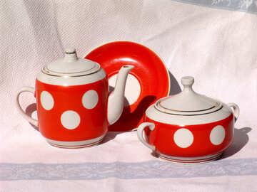 Tea. Set for tea . №2515