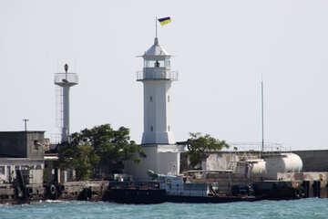 Lighthouse. Yalta №2193