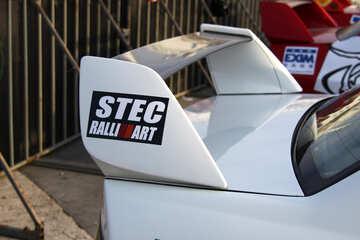 rear spoiler stec rallyart  №2651