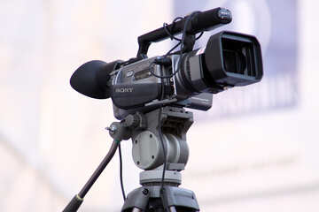 Professional video camera  №2690