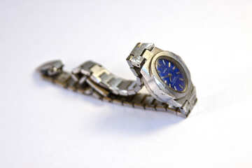 Mechanical watches seagull with blue dial. №2121