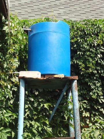 Barrel  Plastic for solar  shower   №2772
