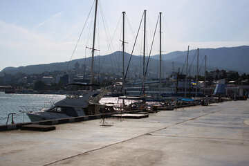 Embankment.  Yalta. №2219