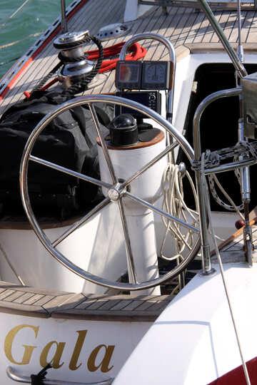 Modern steering wheel №2185