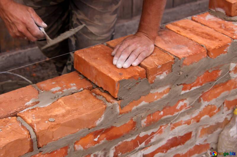 Brick laying №2880
