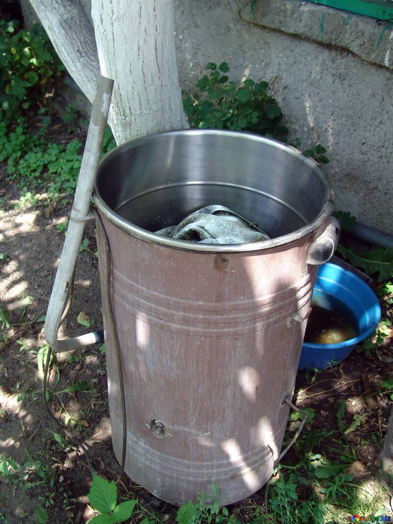 Old washing machine  №2774