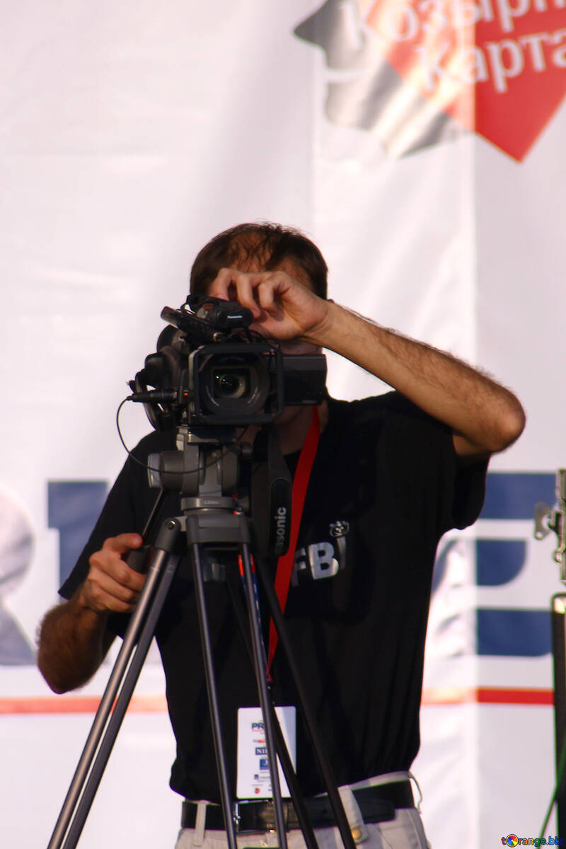 cameraman at work  №2689