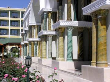 Colored columns №20831