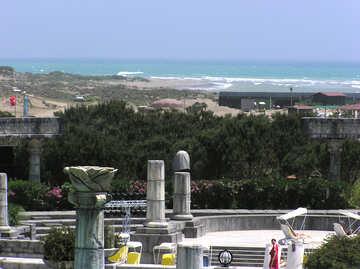 Columns near the sea №20689