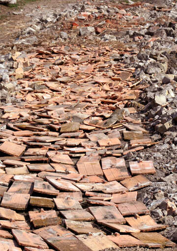 Strengthen road construction debris №20413