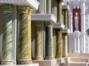 Columns decoration Architecture №20837