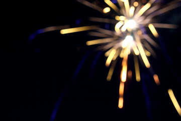 Fireworks background №20369