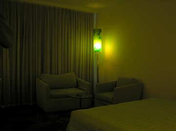 Lampada da terra vicino al sedile №20707