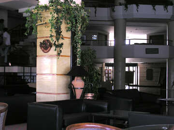 A column in the interior №20755