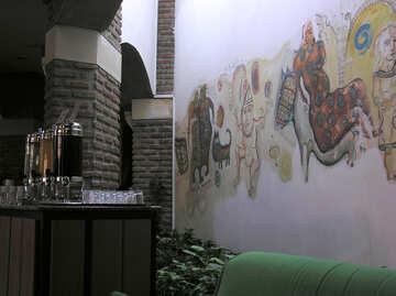 Wandmalerei №20787