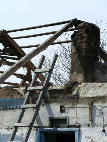 The remains of the house №20537