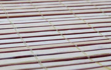 A bamboo mat. №20074