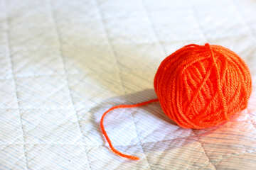 A ball of thread to knitting  №20508