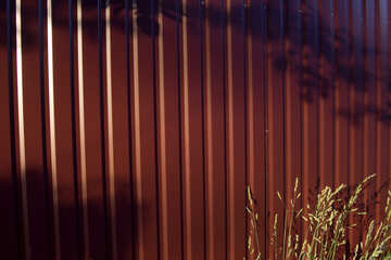 Текстура забор из металлопрофиля №20055
