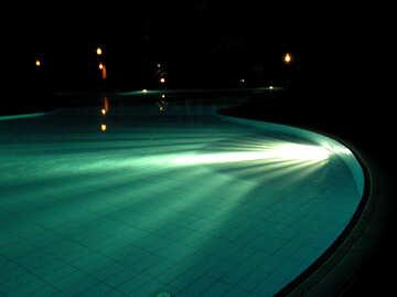 The pools at night №20818