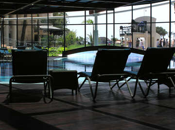 Indoor and outdoor swimming pool №20703
