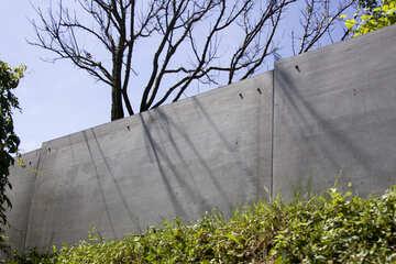 Ein Zaun aus Schiefer №20054