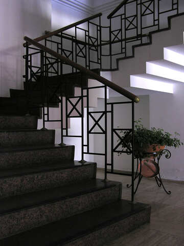 Staircase in the cottage №20759