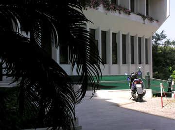 Motorrad in die Sonne №20730